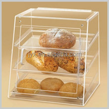 Custom Clear Acrylic Cupcake Display Cabinet