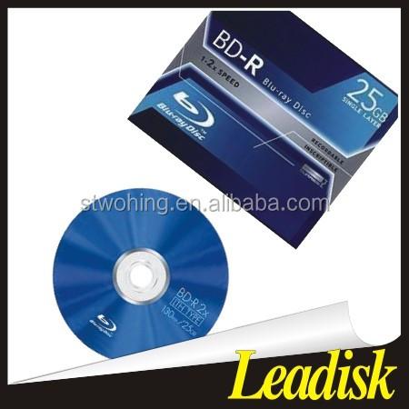 空のブルーレイディスクbd-r 25グラム6 × 50ピーススピンドルパッキング