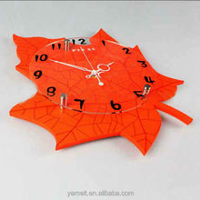 Popular Acrylic solar powered outdoor clock