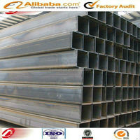 ASTM A120 low carbon welded square steel pipe