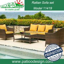 Rattan furniture garden cebu rattan sofa set