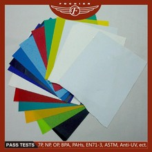 Rigid PVC cover plastic sheet for book and file