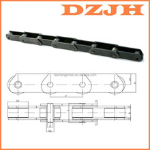 ISO DIN standard MT80 industrial metric long pitch steel mt series conveyor chain