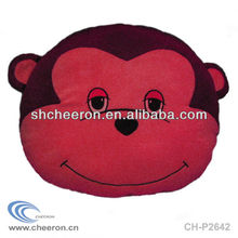 Hot sales Plush monkey face cushion