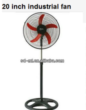 strong wind 20 inch industrial fan with low price/big stand fan/three/ five blade