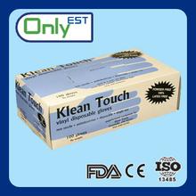 doctor/nurse use lightly powdered disposable Vinyl exam glove high quality