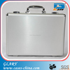 GL-S026 Silver portable hard aluminum attache case