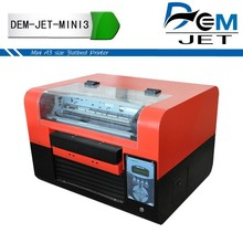 flatbed chocolate printing machine any image printing , not 3d printer