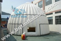 Advertising inflatable dome tent inflatable igloo tent with high quality for sell