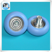 8*12*32mm Sliding door pulley with bolt for shower room &window