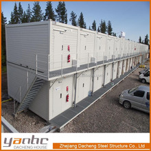 Modern Integrated Prefab Modular Homes for Builders, construction company, oil company