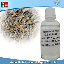 Best Plant Extract Essential oil Pure Organic Citronella oil 35/85