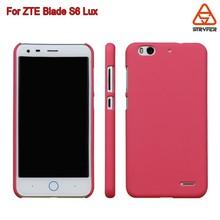 Ultra slim hard transpatent clear for ZTE S6 Lux/Q7 case , 2D sublimation phone case for ZTE Q7