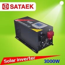 3000W 12V/24V /48V 220VAC/230VAC off grid solar inverter price CE certificate