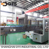 Automatic wrapping machine for edible oil packing