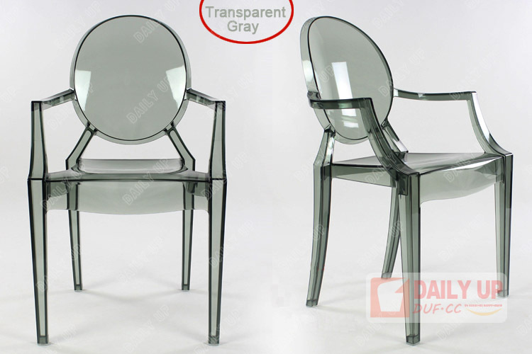 Clear cristal cadeira louis ghost cadeira cadeira de for Sillas comedor plastico