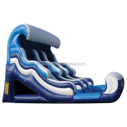 CE/UL EN14960 SGS SAA 2015 popular inflatable double lane slide on hot sales for sports game