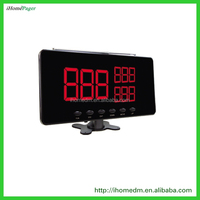 S101 High Quality Wireless Service Waiter Remote Call Bell System Show Three Groups Call Number