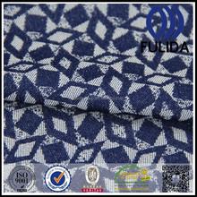 M7998 2015 jacquard tecido de cetim azul escuro jacquard tecido de cetim