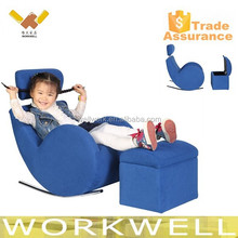 WorkWell best selling kids recliner sofa,children sofa