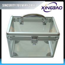Vanity extendable cosmetic case,colorful online cosmetic case,Acrylic panel aluminum cosmetic case