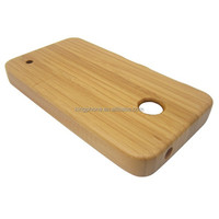 high quality bamboo wood cell phone case for Nokia 630 ,mobile phone shell,wooden case