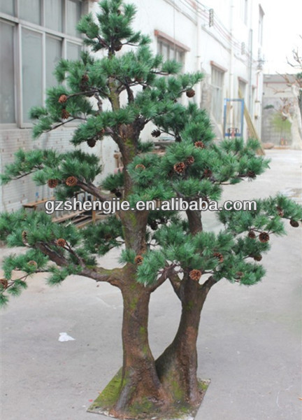 Small decorative pine trees landscaping pine trees guangzhou artificial tree buy indoor - Small trees for indoors ...