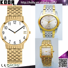 2 Tones Gold Watches Quartz q&q Gold Watches Fashion Watch