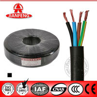 2014 HOT SALE BV/RV/RVV/RVVP Series 4 core electric wire MM2 300/300V Electric Wire RV fire resistance Cable