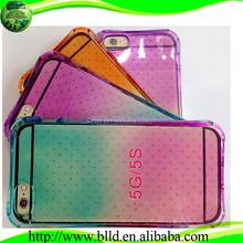 MillcolorGrad Air Cushion TPU waterproof phone case for Iphone 5S 5G