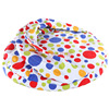 round spotty soft plush pet bed/dog house/cat bed