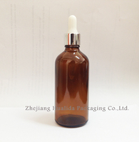 100Ml Natural Essential Oil Bottle With Plastic Spray