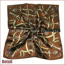 Hottest original wholesale silk made in turkey scarf