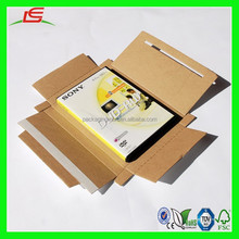 NZ106 Special Design Corrugated Cardboard Envelope CD & DVD Mailing Boxes with Adhesive Strip