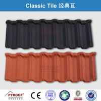 Tile in Tiles Color Stone Coated Terracotta Metal Roof TILES