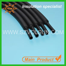 Black polyolefin heat shrink tube