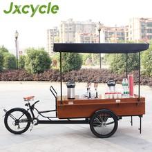 Aprovado pela CE de café móvel carrinho para venda