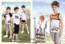 fashion boys t-shirt for 2-12 years old boys in China sewing contractors