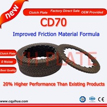 Manufacturer china motorcycle spare parts,rubber motorcycle clutch disc,clutch plate motorcycle parts wholesale