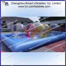 Best price inflatable pool with slide,inflatable water slide for kids and adults,Double lane Slide