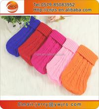 New design knitting pets sweaters,warm dog clothing