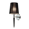 2015 new products for hotel wall lamp with black leather tube W1021