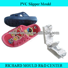 lowest cost with customized size for kids PVC slipper mold