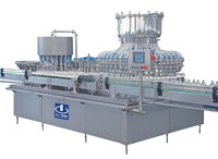CNGFS48/20 glass bottle fill nitrogen fill and stopper machine IV solution