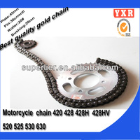 Chinese manufacturer spare parts chain sprocket set for daelim parts