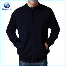 MOQ:one piece BIGWORLD 2015 Woolen Sweater men cardigan sweater wholesale mens zip hoodie men's sweater knit