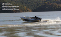 Wholesale price all welded aluminum boat building