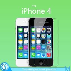 Front Tempered Glass Cover for iPhone 4/4S