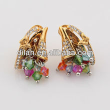 Aisan trading jewelry fashionable costume China plus size clothing accessories jewelry finding traditional earring
