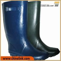 Classic design comfortable quality unisex farmer rubber rain boots